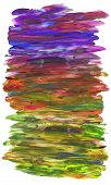 Multicolored Background Isolated