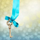 key on ribbon