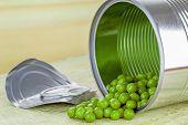 Tin of peas