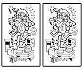 Santa Claus - Find the ten differences