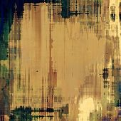 Old background with delicate abstract texture. With different color patterns: yellow, brown, green, gray, black