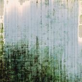Grunge, vintage old background. With different color patterns:  green, blue, gray