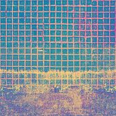 Old background with delicate abstract texture. With different color patterns: yellow, purple (violet), blue, gray