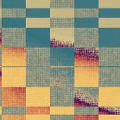 Old grunge textured background. With different color patterns:  yellow, brown, orange, blue, gray