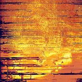 Grunge background with vintage and retro design elements. With different color patterns: yellow, brown, orange, violet