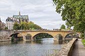 Pont Saint Georges In Metz, France