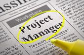 Project Manager Jobs in Newspaper.
