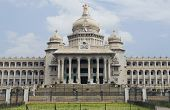 pic of vidhana soudha  - Facade of a government building - JPG