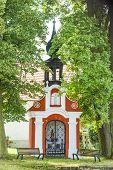 stock photo of chapels  - chapel in Svebohy near Horni Stropnice - JPG
