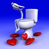 Lovesick In The Restroom