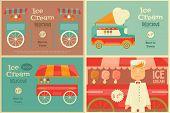 Постер, плакат: Ice Cream Poster
