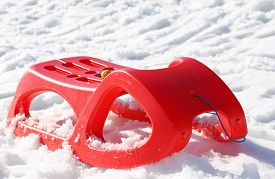 picture of rebs  - reb sled for playing in the snow in winter - JPG