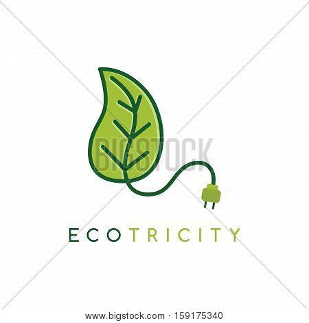 Eco energy symbol