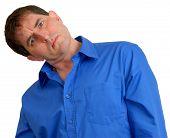 Man In Blue Dress Shirt 12