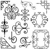 A set of 12 exquisitive and very clean ornamental designs.