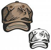 Baseball hat. Vector illustration