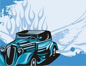 foto of street-rod  - Hot Rod Background Series - JPG
