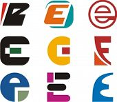 Alphabetical Logo Design Concepts. Letter E. Check my portfolio for more of this series.