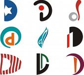 Alphabetical Logo Design Concepts. Letter D. Check my portfolio for more of this series.