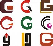 Alphabetical Logo Design Concepts. Letter G. Check my portfolio for more of this series.