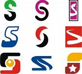 Alphabetical Logo Design Concepts. Letter S. Check my portfolio for more of this series.