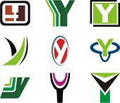Alphabetical Logo Design Concepts. Letter Y. Check my portfolio for more of this series.