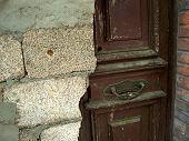 Old Construction Door