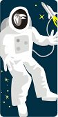 Spaceman Vector Illustration