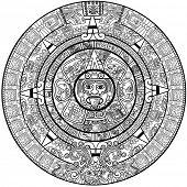 Vektor-Maya-Kalender