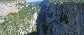 Deep Canyon, Verdon Gorges, Azur Coast, South Of France, Panorama