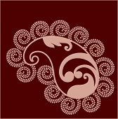 Paisley design vector