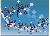 filamentos de la molécula