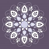 lacy snowflakes/flowers 1 of 3