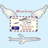 air mail to Santa