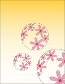 Flores en círculo