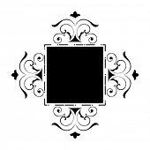 funky shape frame