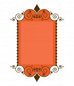 picture frame - use with or without center swatch