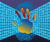 hand  fingerprint  technology