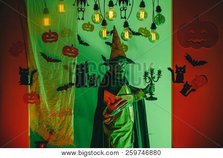 Happy Father On Halloween Background