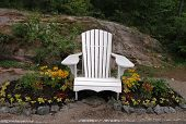 White Muskoka Chair
