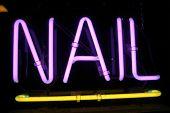 Neon Sign series  nail