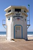 World Famous Laguna Beach California Life Guard Station