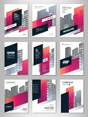 Red Abstract Presentation Slide Templates. Brochure Template, Brochures, Brochure Layout, Brochure C poster