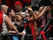 jährliche Schwulen und lesbischen stolz bekannt als Christopher Street Day in Berlin, Deutschland