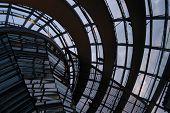 Постер, плакат: Новый купол Рейхстага в Берлине Германия