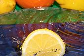 picture of crown green bowls  - Bit of lemon dropped to pure water - JPG