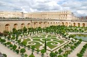foto of versaille  - Famous palace Versailles near Paris - JPG
