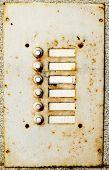 Old doorbell buttons