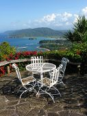 The View From Noel Cowards House Firefly Overlooking Port Maria, Jamaica