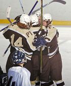 High School Hockey Celebration